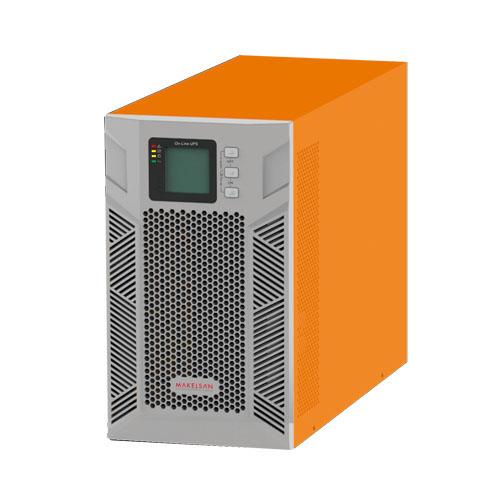 MAKELSAN MU03000N11DTV01 POWERPACK PLUS 3 KVA 1F/1F On Line (5 - 15 Dk.) LCD 6x12V 7AH (+V.2)