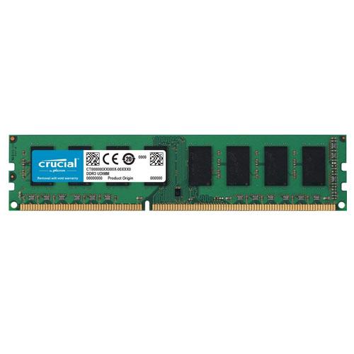 CRUCIAL 8GB 1600Mhz DDR3L UDIMM 1.35V/1.5V CL11 Pc Ram CT102464BD160B