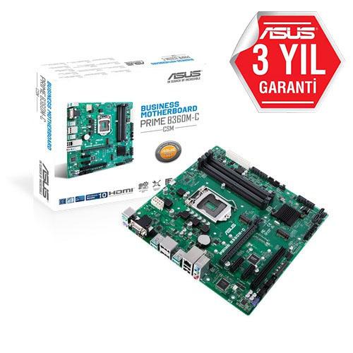 ASUS INTEL PRIME B360M-C/CSM B360 DDR4 2666 VGA HDMI GLAN 1151P
