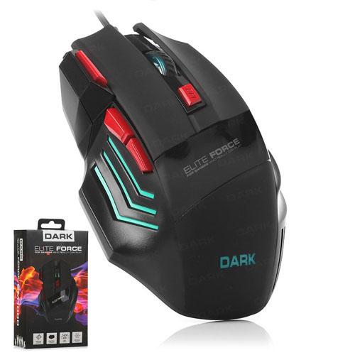 DARK Elite Force GM1000 Usb 3X Ateş Butonlu Ayarlanabilir DPI Aydınlatmalı Gaming Mouse