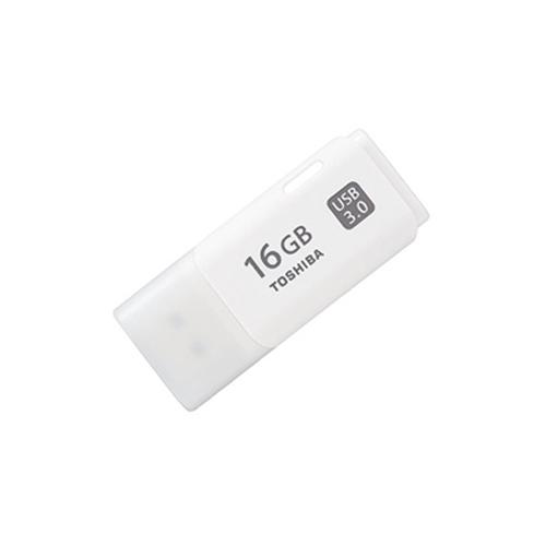 TOSHIBA 16GB Hayabusa Beyaz Usb 3.0 Flash Disk THN-U301W0160E4