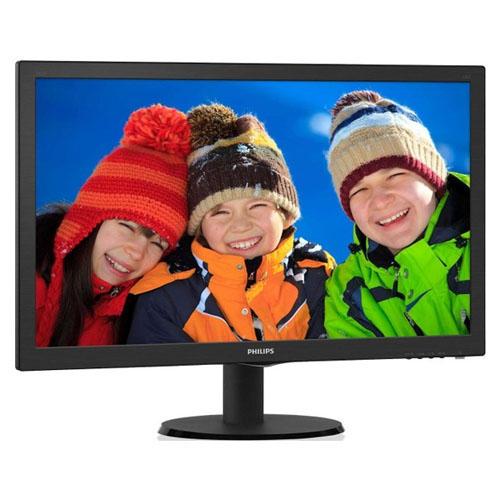 PHILIPS 23.6 243V5LHSB5-01 1Ms GAMING VGA-DVI-HDMI Led Monitör Siyah