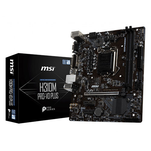 MSI INTEL H310M PRO-VD PLUS H310 DDR4 2666 DVI VGA GLAN 1151p-8
