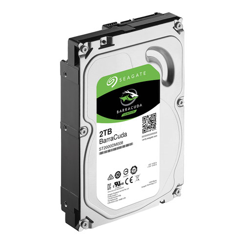 SEAGATE 3.5 2TB 7200 RPM 256MB SATA3 PC HDD ST2000DM008