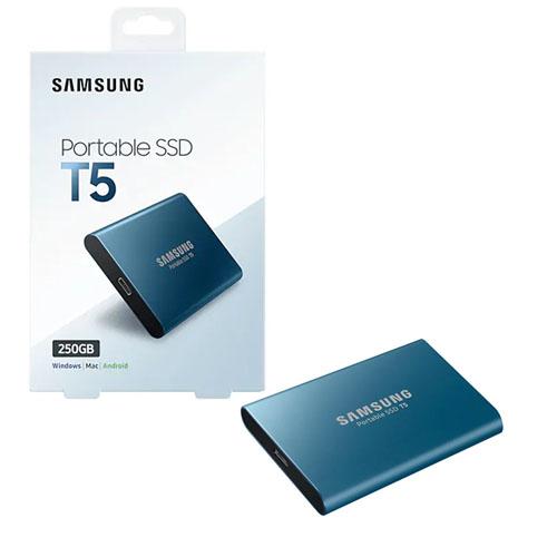 SAMSUNG 2.5 T5 250GB USB 3.1 EXTERNAL SSD MU-PA250B/WW
