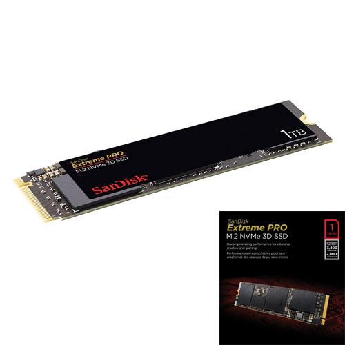 SANDISK M.2 1TB SSD SATA3 3400/2800 SDSSDXPM2-1T00-G25