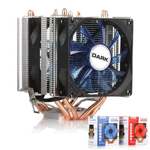 Dark Freezer X94BL DKCCX94BL İntel + AMD Ryzen Alüminyum 92MM Mavi Ledli İşlemci Fanı