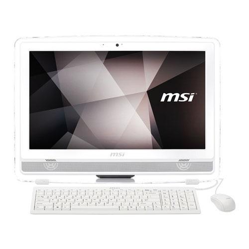 MSI AIO PRO AC17-401TR-X i7 7700 3,60 GHz 8GB 1TB + 128GB SSD 2GB VGA GT930MX 21,5 FHD MULTI-TOUCH Dos Cam Beyaz