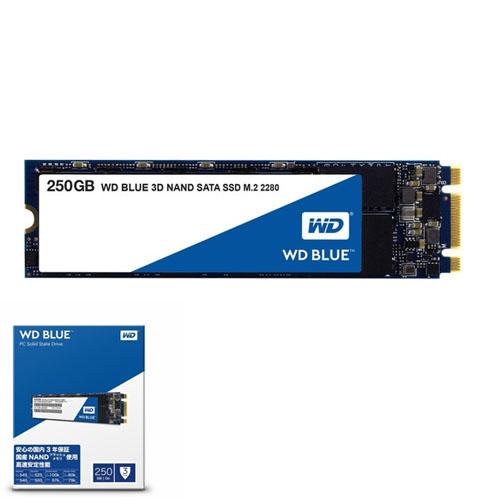 WD Blue 250GB SSD M.2 SATA 550/525 WDS250G2B0B