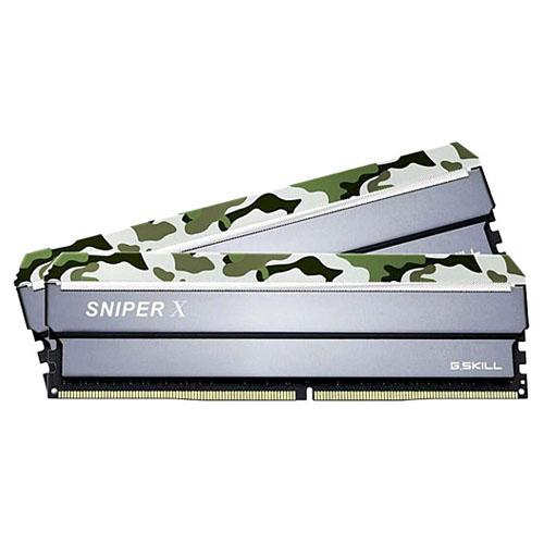 GSKILL SniperX Orman Kamuflaj 16GB (2x8GB) 3000Mhz DDR4 CL16 F4-3000C16D-16GSXFB