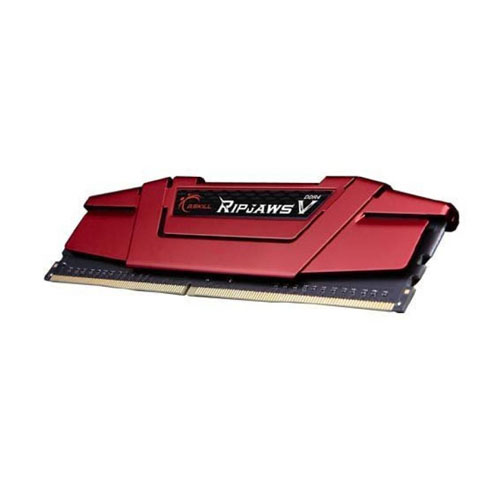 GSKILL RipjawsV Kırmızı 8GB (1x8GB) 3000Mhz DDR4 CL16 Pc Ram F4-3000C16S-8GVRB
