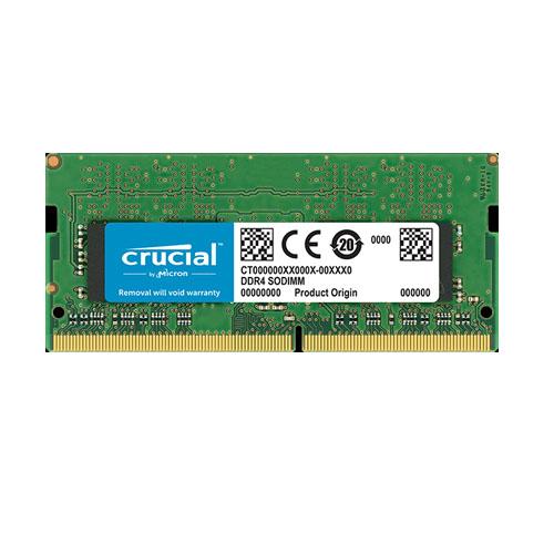 CRUCIAL SRX8 8GB 2666Mhz DDR4 CL15 Notebook Ram CT8G4SFS8266