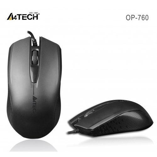 A4 Tech OP-760 Usb 1000Dpı Optik Siyah V-TRACK MOUSE
