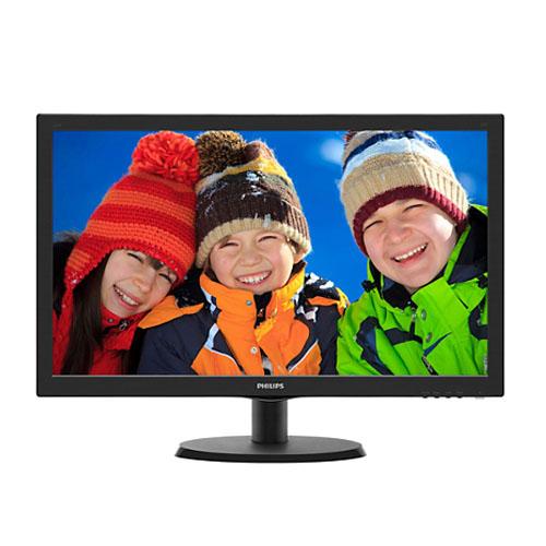 PHILIPS 21.5 223V5LHSB2/00 W-LED 5Ms Analog + HDMI Led Monitör Parlak Siyah