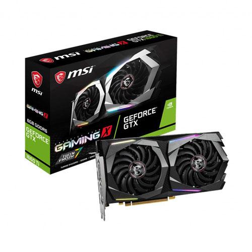 MSI 6GB GTX1660 GeForce GDDR6 192 Bit GeForce GTX 1660 GAMING X 6G (1x HDMI 3xDP) DX12 PCIE 3.0 X16