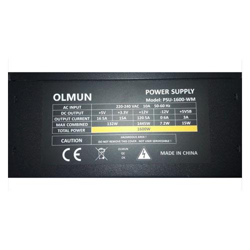 BTC OLMUN PSU-1600-NM 1600W Power Supply