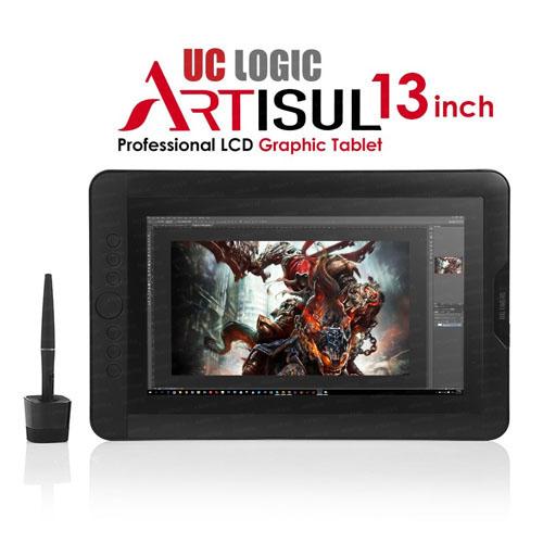 UC Logic Artisul D13S 13.3 1920x1080 FullHD 8192 Kademe Basınç Hassasiyeti, Profesyonel 5080LPI Grafik Tablet