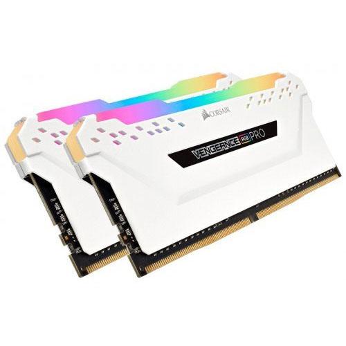 CORSAIR VENGEANCE 16GB (2x8GB) 2666Mhz DDR4 Soğutuculu CL16 Pc Ram CMW16GX4M2A2666C16W Beyaz