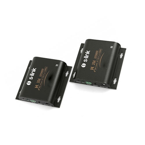 S-LINK SL-HDEX120M RJ45 TO HDMI EXTENDER H.264-HDMI 120M UZATICI