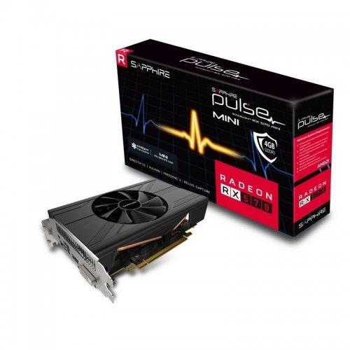 SAPPHIRE AMD 4GB RX 570 11266-34-20G GDDR5 256 Bit HDMI DVI-D DP