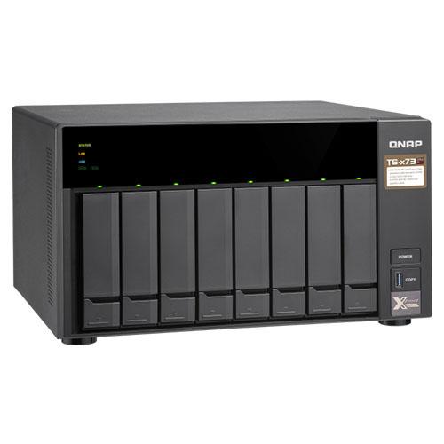 QNAP TS-873-4G 2.5 /3.5 8x Sata I-II-III Dijital Gösterge Raid NAS Server