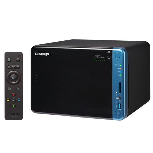 QNAP TS-653B-4GB 2.5 /3.5 6x Sata I-II-III + SSD Raid Depolama Ünitesi