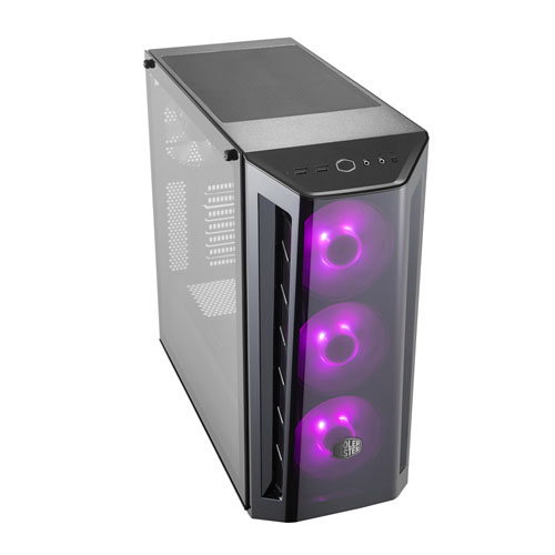 COOLER MASTER MASTERBOX MB520 RGB PSU Yok Mid Tower Gaming Kasa RGB