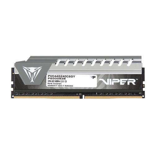 PATRIOT VIPER ELITE 4GB 2400Mhz DDR4 Soğutuculu CL16 Gaming PC Ram 1.2V