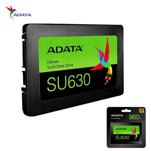 ADATA SU630 2.5 240GB Ssd Disk 520MB/Sec 450MB/Sec ASU630SS-240GQ-R