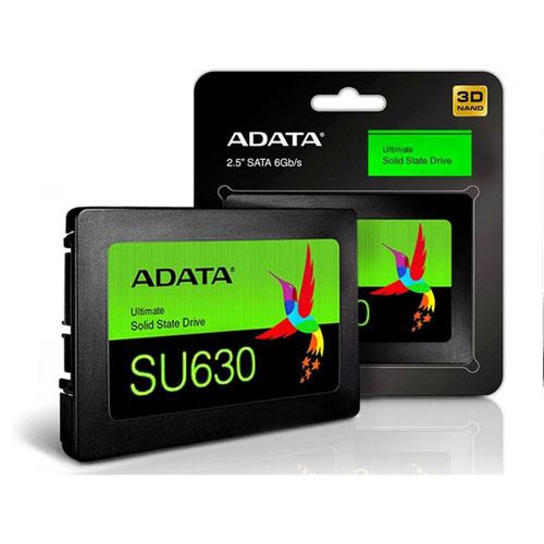 ADATA SU630 2.5 480GB Ssd Disk 520MB/Sec 450MB/Sec ASU630SS-480GQ-R