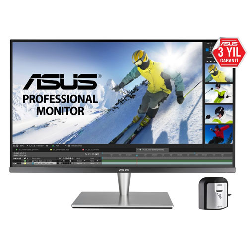 ASUS 32 PA32UC-K PROART 5Ms 60Hz M.M HDMI-Display Port-ThunderBolt IPS LED Monitör Gümüş