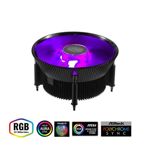 COOLER MASTER i71C RR-I71C-20PC-B1 INTEL (Yalnızca INTEL Uyumludur) 120mm RGB Led Fanlı İşlemci Fanı