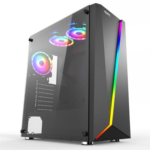 VENTO GPE180304-500 500W 80+ 3xRGB Led Fanlı Gaming Kasa