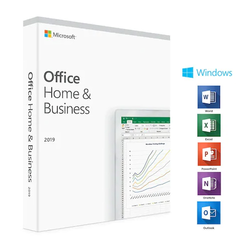 Microsoft Office Home and Business 2019 Eng Box 32/64 Bit T5D-03219