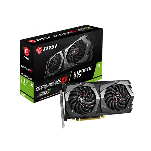 MSI 4GB GTX1650 GeForce GDDR5 128 Bit GTX 1650 GAMING X 4G 2*DP/HDMI DX12 PCIE 3.0 X16