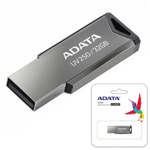 A-DATA 32GB UV250 Gümüş Usb 2.0 Flash Disk AUV250-32G-RBK
