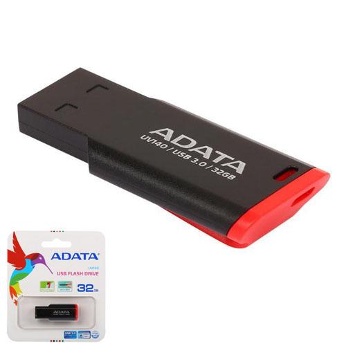 A-DATA 32GB UV140 Kırmızı/Siyah USB 3.1 Flash Disk AUV140-32G-RKD