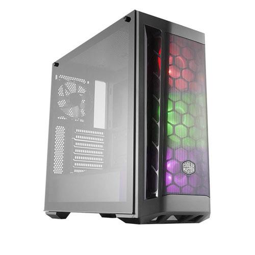 COOLER MASTER MB511 MCB-B511D-KGNB70-RGB 700W 80+ Gaming Kasa Temperli Panel 3X120CM RGB LED Fanlı