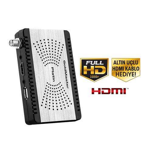 GOLDMASTER Platin Micro FULL HD Uydu Alıcısı
