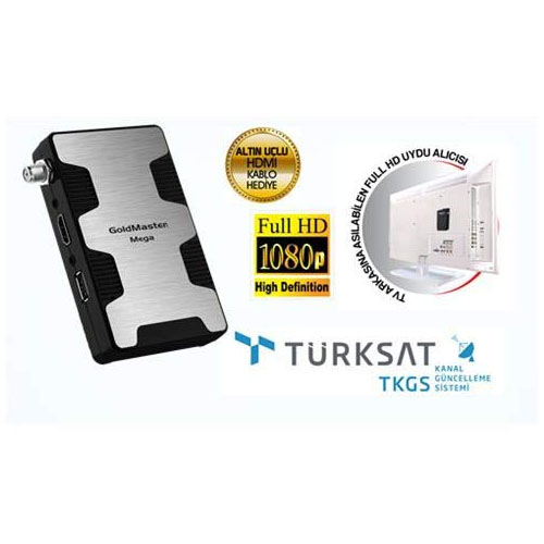 GOLDMASTER Flash Micro FULL HD Uydu Alıcısı