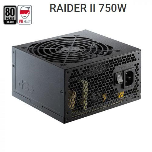 FSP Raider II RA2-750 750W 80+ Silver Atx Power Supply 120mm Fanlı