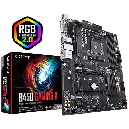 GIGABYTE AMD B450 GAMING X B450 DDR4