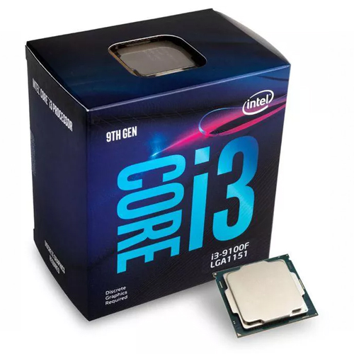 INTEL Core i3 9100F 4 3,60 GHz 6MB LGA1151 COFFEELAKE BOX FAN VAR