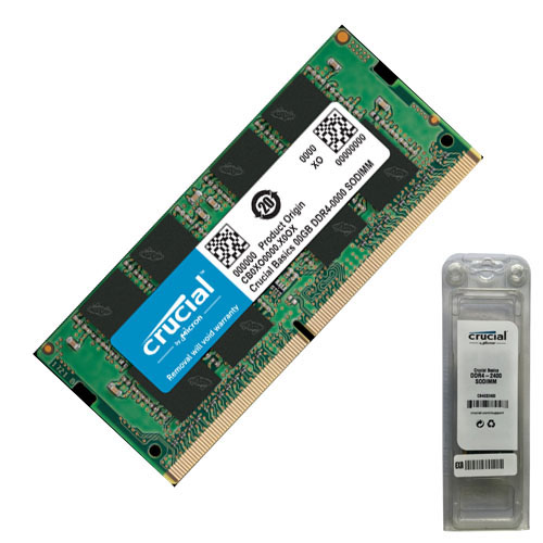 CRUCIAL BASICS SERIES 4GB 2400Mhz DDR4 Notebook Ram CB4GS2400