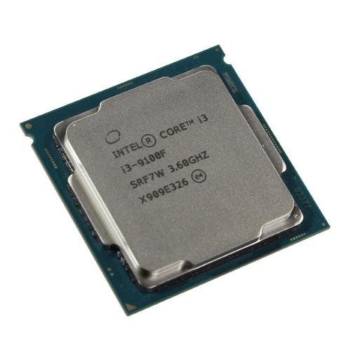 INTEL Core i3 9100F 4 3,60 GHz 6MB LGA1151 Tray Fansız