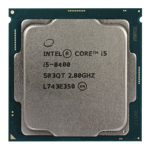 INTEL Core i5 8400 6 2.80 Ghz 9MB LGA1151 Tray Fansız