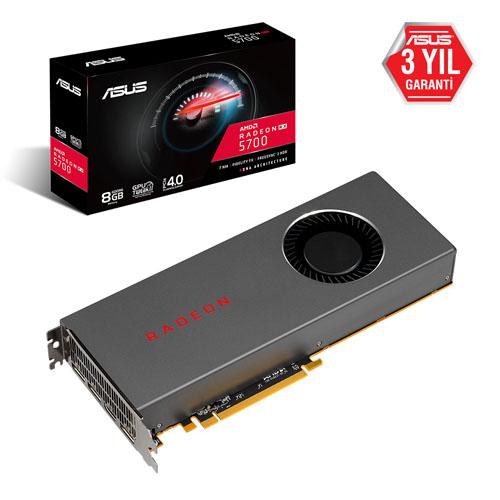 ASUS AMD 8GB RX5700 RADEON GDDR6 256 Bit RX5700-8G HDMI 3xDP