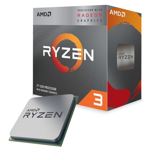 AMD RYZEN3 3200G 4 3.6 GHz 2MB AM4 65W Radeon Vega 8 1,25 GHz YD3200C5FHBOX