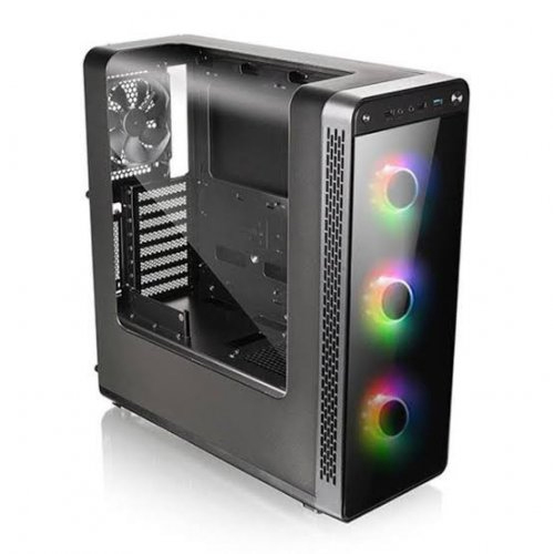 THERMALTAKE VIEW 27 CA-3G7-60M1WE-01 600W 80+ 3X120mm Siyah Panoramik Pencereli Mid Tower Gaming Kasa