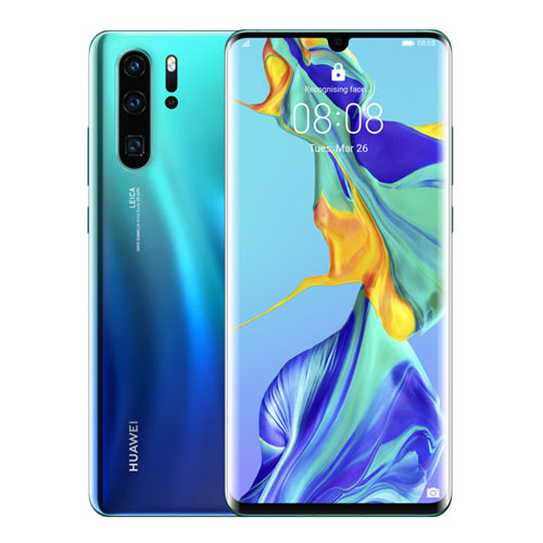 Huawei P30 Pro Aurora Blue 40MP 4.5G 6.47 128GB-6GB Distribütör